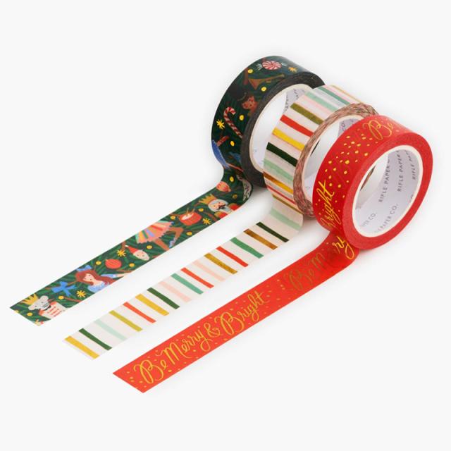 ライフルペーパー/マスキングテープ/クリスマスドール・マスキングテープ