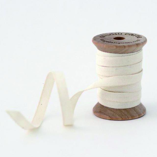 スタジオ・カルタ/コットンリボン/Cotton Ribbon-Natural