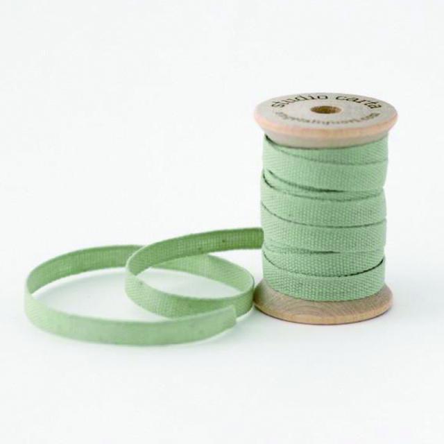 スタジオ・カルタ/コットンリボン/Cotton Ribbon-Sage