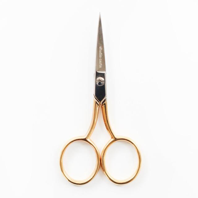 スタジオ・カルタ/リボンシザーズ/Ribbon Scissors Medium Gold Handle