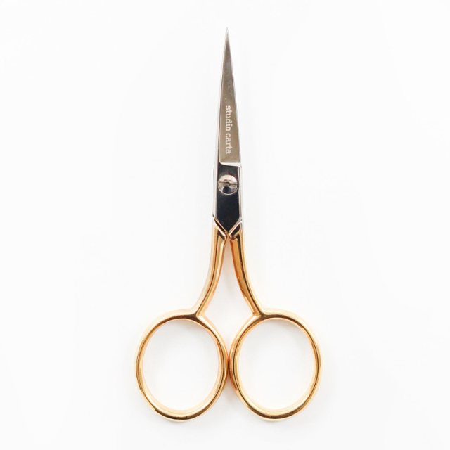 Studio Carta/リボンシザーズ/Ribbon Scissors Medium Gold Handle