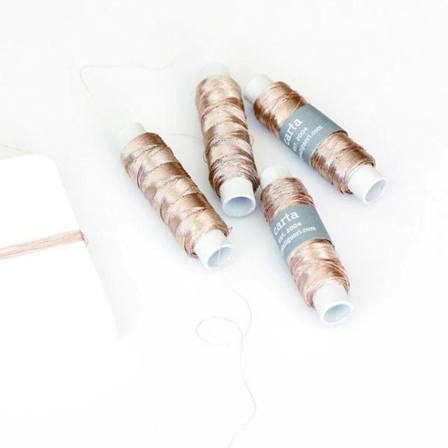 Studio Carta/スレッド/Metallic Thread - Champagne-100 yards (90m)