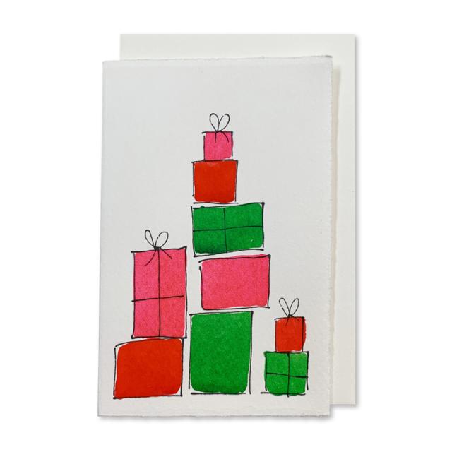 Scribble & Daub/シングルカード/Presents (Pink)