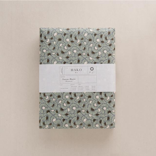 ginger/文庫A4/FLOWER-Gray 1