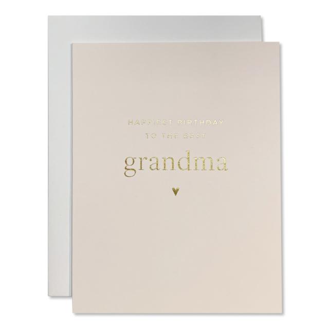 Smitten On Paper/シングルカード/Gradma Birthday Greeting Card