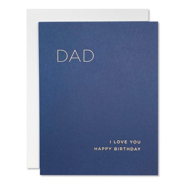 Smitten On Paper/シングルカード/Dad Birthday Greeting Card
