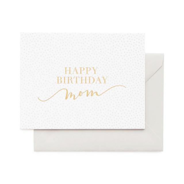 シュガーペーパー/シングルカード/Happy Birthday Mom