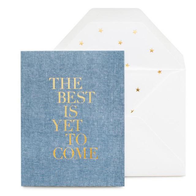 シュガーペーパー/シングルカード/The Best is Yet to Come