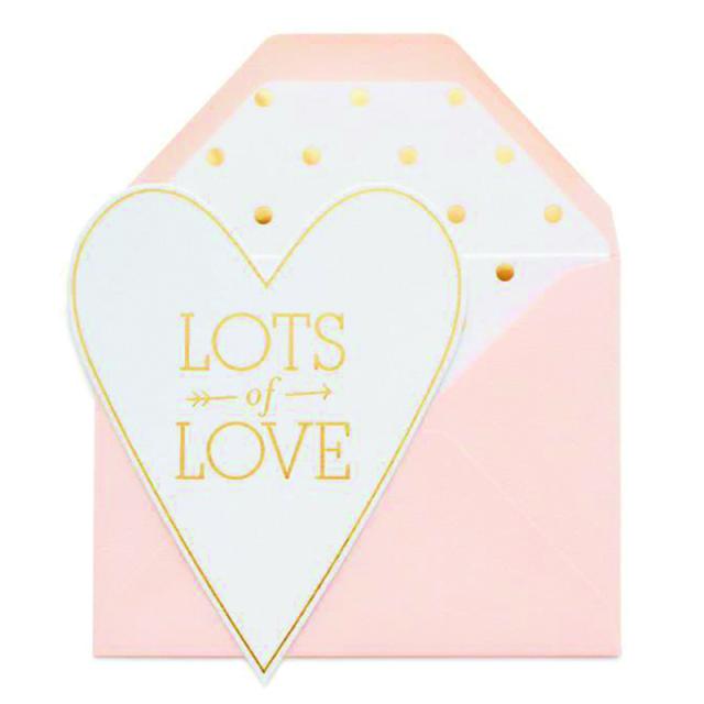 Sugar Paper/シングルカード/Lots of Love
