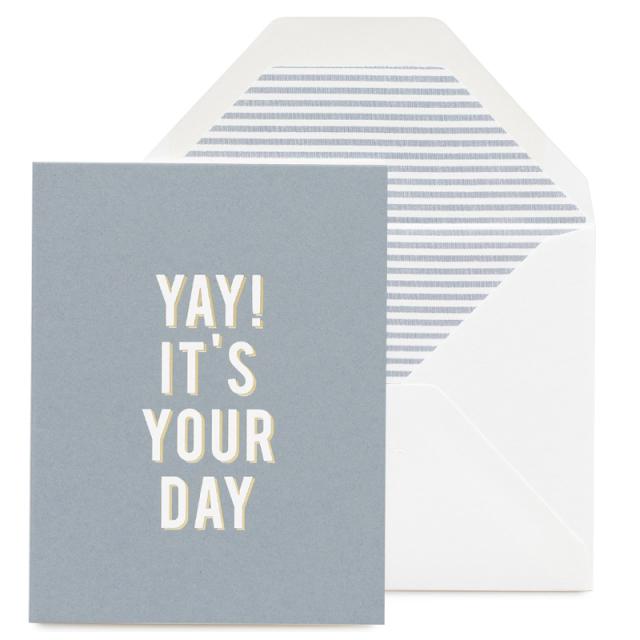 シュガーペーパー/シングルカード/Yay! It's Your Day