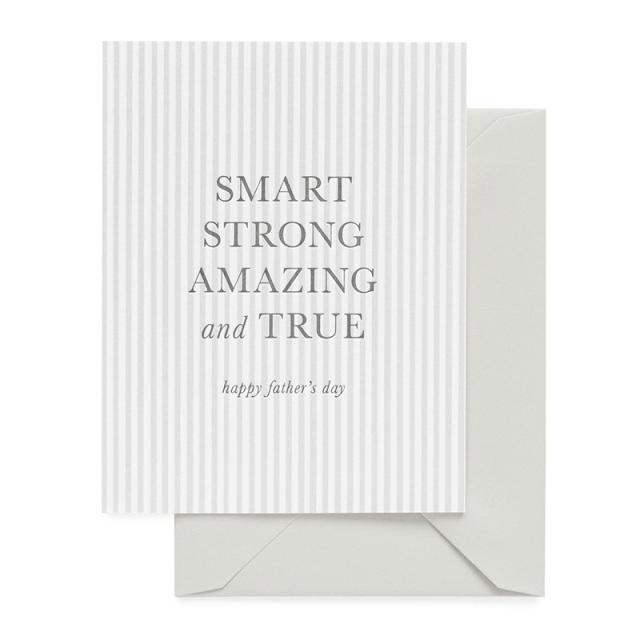 Sugar Paper/シングルカード/Smart, Strong, Amazing