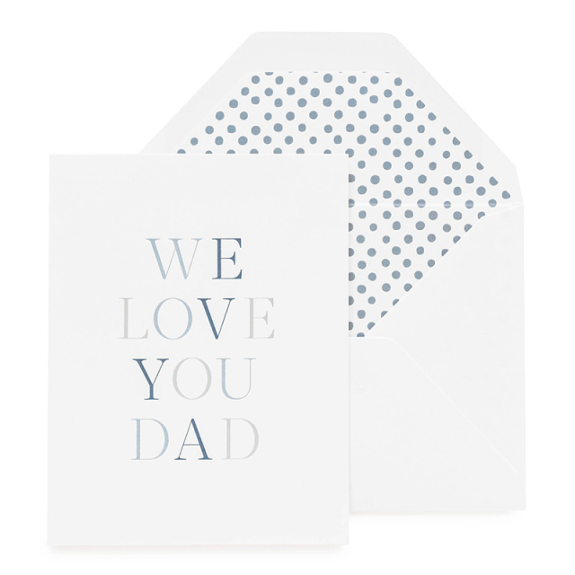 Sugar Paper/シングルカード/We Love You Dad