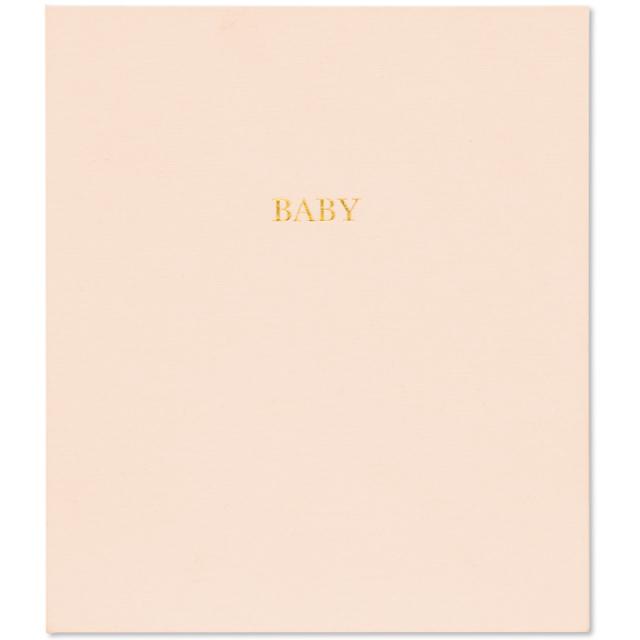 シュガーペーパー/ベビーアルバム/Baby book-Pale pink