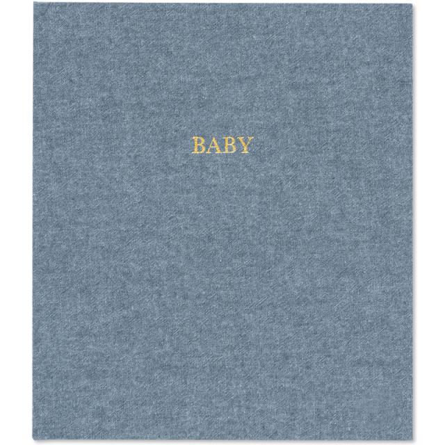 シュガーペーパー/ベビーアルバム/Baby book-Chambray
