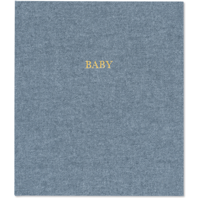 Sugar Paper/ベビーアルバム/Baby book-Chambray
