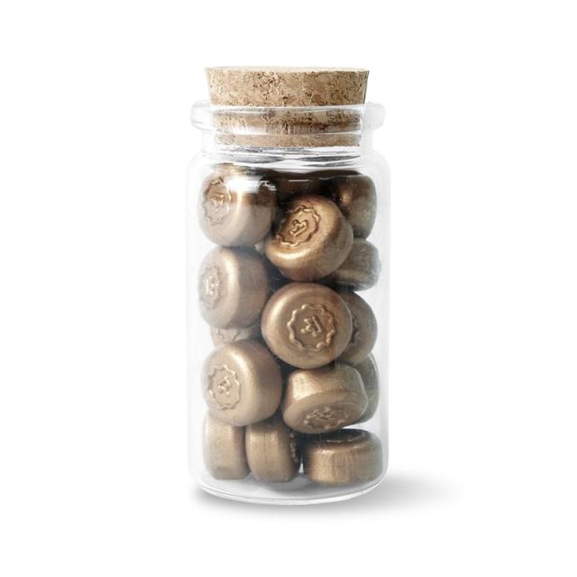 スタンプティチュード/ワックスぺブル/Bronze Wax Pebbles