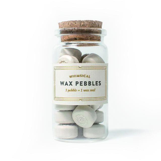 スタンプティチュード/ワックスぺブル/Ivory Wax Pebbles