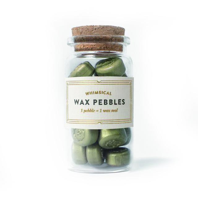 スタンプティチュード/ワックスぺブル/Olive Wax Pebbles