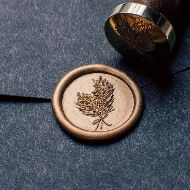 Stamptitude/シーリングスタンプ&ワックス/Pine Needle Wax Seal