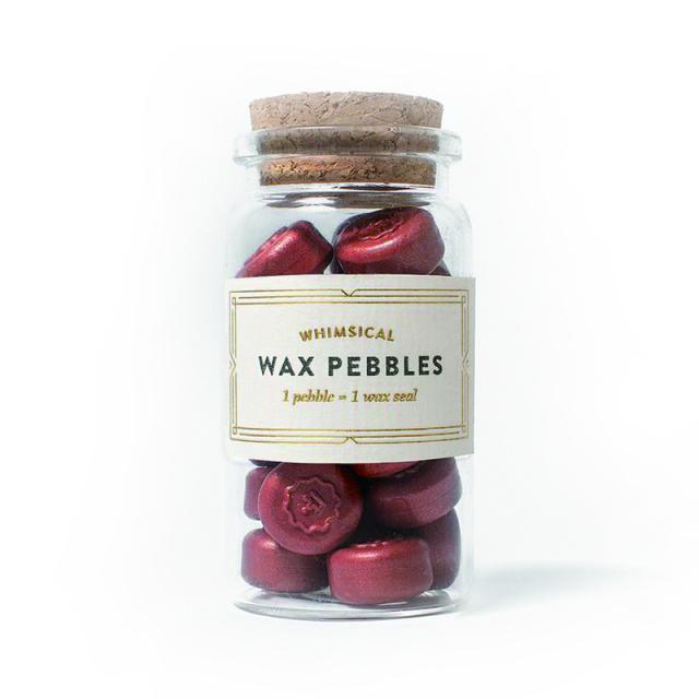 スタンプティチュード/ワックスぺブル/Terracotta Wax Pebbles