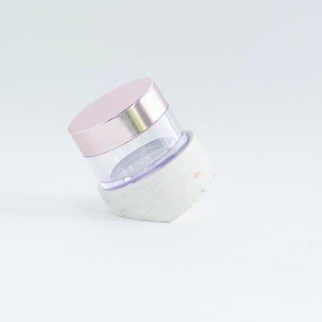 トムズ・スタジオ/インクケースホルダー/Tilt - gold marbled ink pot holder