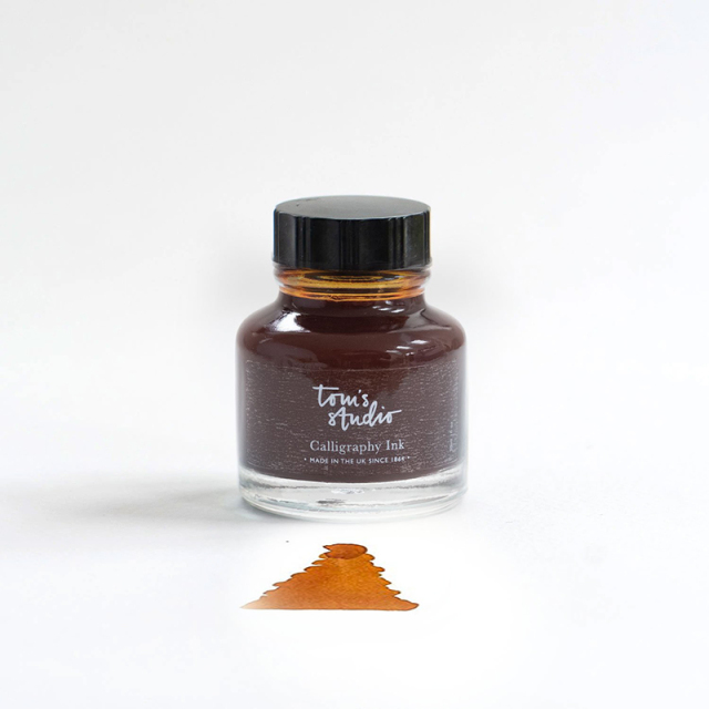 Tom's Studio/カリグラフィーインク/Calligraphy Ink - Sepia
