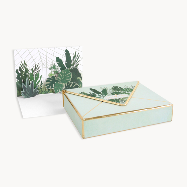 UWP LUXE/ボックスカード/Greenhouses