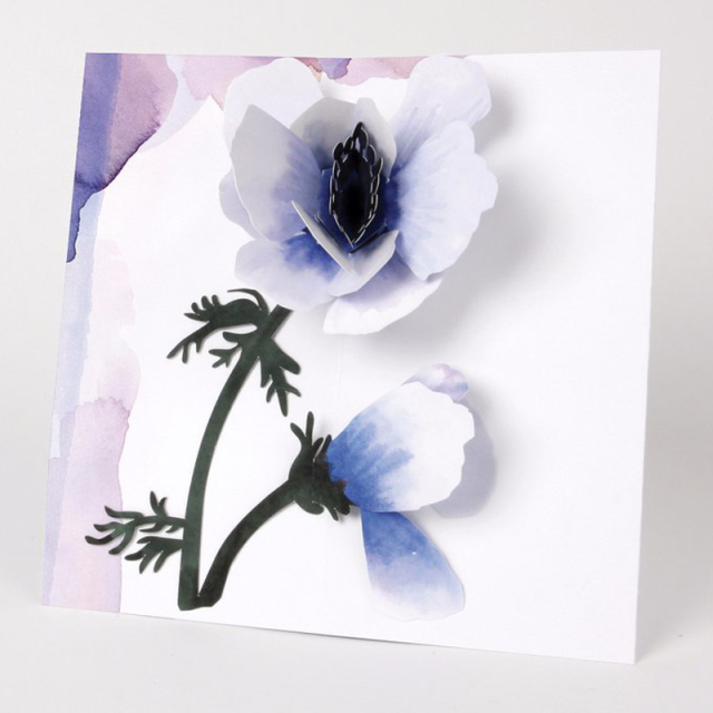 Up With Paper/シングルカード/Anemone Flower