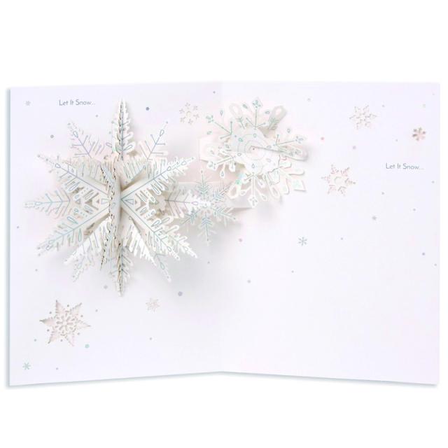 アップ・ウィズ・ぺーパー/シングルカード/Snow Flakes