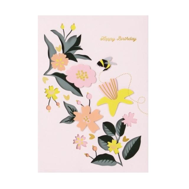 UWP LUXE/シングルカード/Floral Birthday