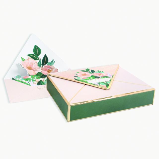 UWP LUXE/ボックスカード/Floral Envelope