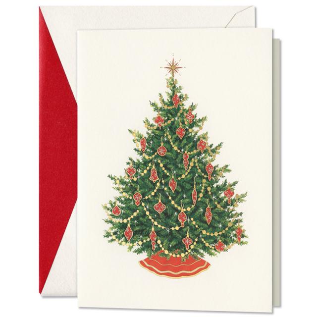 クリスマスグリーティングカードボックス