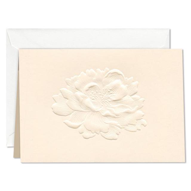 ウィリアム・アーサー/ボックスカード10枚セット/Embossed Garden Rose Note