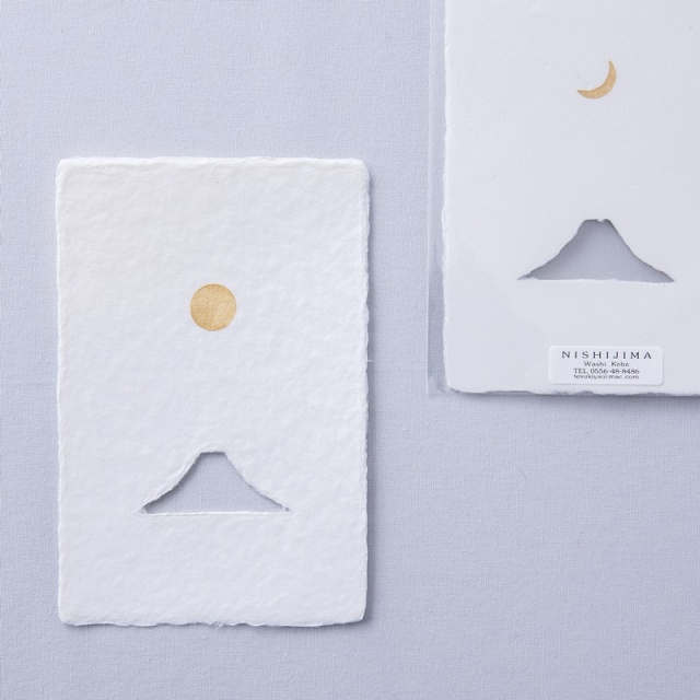 WACCA/ポストカード/富士山 SUN&MOON