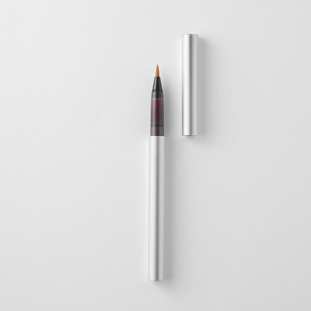 WACCA/筆ペン/添 綴綴 万年筆ペン シルバー