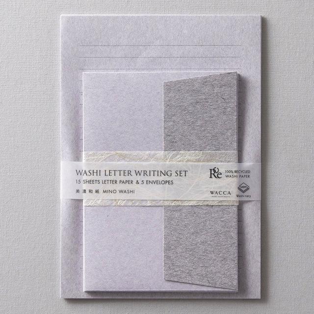 WACCA/レターセット/Washi-nary×WACCA Washi Letter Set - Sumire 菫