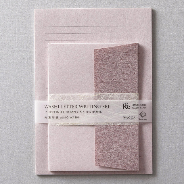 WACCA/レターセット/Washi-nary×WACCA Washi Letter Set - Umenezu 梅鼠