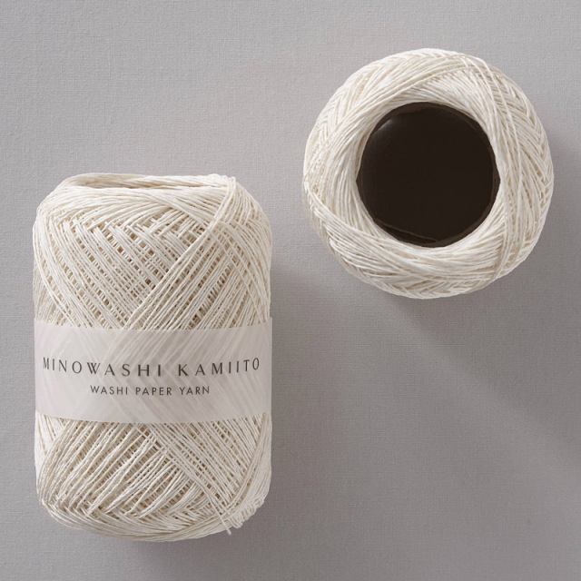 WACCA/美濃和紙 紙糸/MINOWASHI KAMIITO