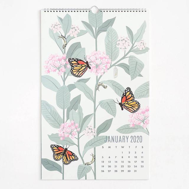 ぺーパーソース/カレンダー/2020 Wall Art Calendar