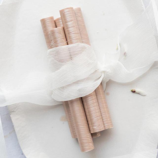 ワックスシールズ/グルーガンシーリングワックス/Champagne Glue Gun Sealing Wax