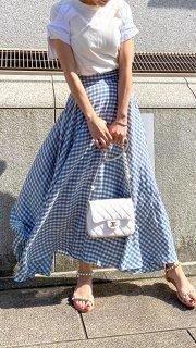エアリーフレンチフレアスカート