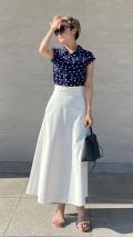 日本製 UVカットフレアスカート