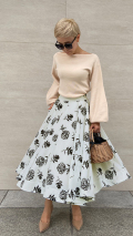 JENNE Luxe フレアスカート【限定品】