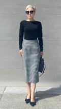 【先行予約】パリジェンヌ ロングストレートスカート【発送予定:9月下旬】