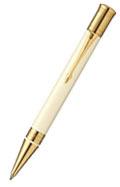 デュオフォールド クラシック アイボリー&ブラックGT ボールペン