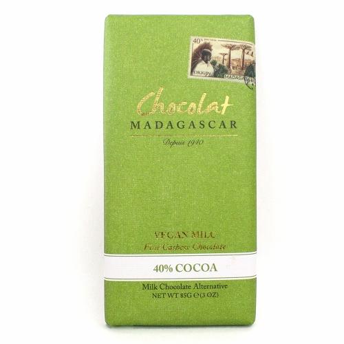 ショコラマダガスカル ヴィーガンカシューミルクチョコレート 40%