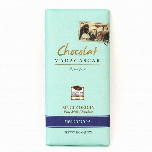 ショコラマダガスカル ファインミルクチョコレート50% 85g