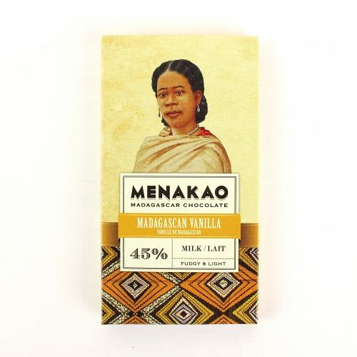 メナカオ ダークチョコレート45% マダガスカルバニラ 25g