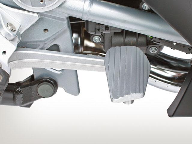 Wunderlich R1200RT LC(水冷 '14-) ブレーキペダルプレート