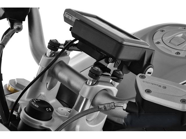R1200R LC(水冷 '15-) / R1200RS LC(水冷 '15-) ハンドルアップキット対応純正ナビホルダーアダプター